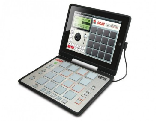 akai mpc fly turns ipad 2 into portable beats center 520x405 Turn your iPad into a serious music making machine with these new accessories