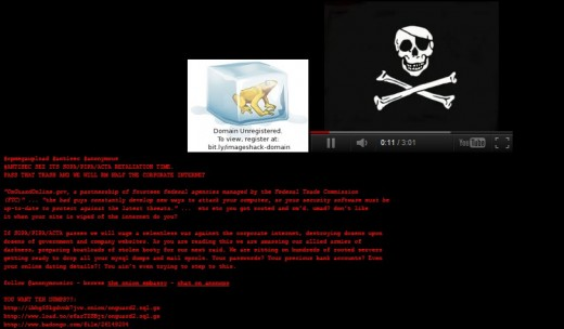 anonymous onlineguardian 520x304 Anonymous hacks into the FTC online security site, warns of more protest action