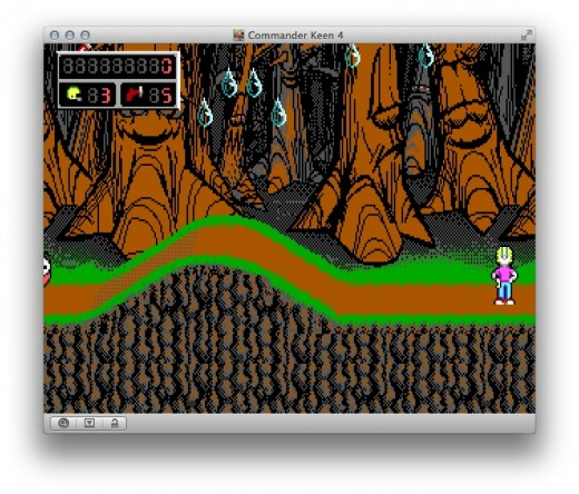 commander keen boxer1 520x444 Boxer is an awesome free Mac app that lets you relive your DOS playing days