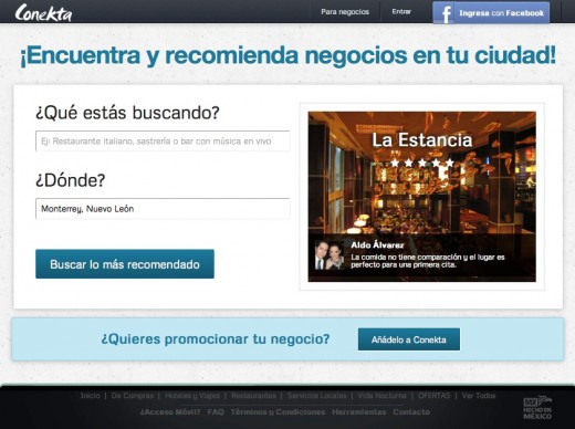 conekta.mx  520x388 How the Mexican Yelp Conekta.mx managed to list over 1 million businesses