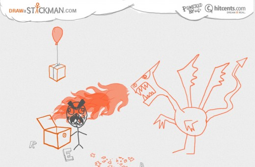 gal 10 520x340 Get immersed in an animated game just by drawing a stickman