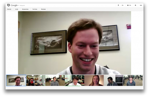 hangouts post 01 520x339 Google+ Hangouts get a facelift, now includes screensharing