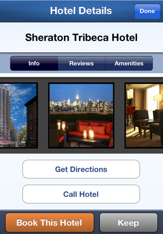 iPhone hotel book 520x747 New Hipmunk app lets you search for the hottest hotels using heatmaps