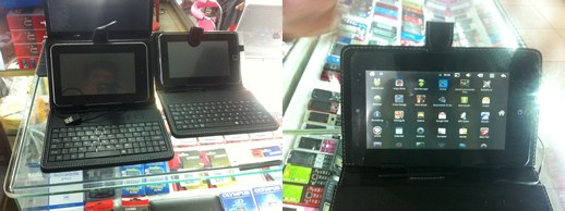 ipad screenshots iPad 5 4G, iPhone clamshell and other Apple rip offs found in Laos
