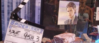 James Franco – Spider-Man 3 props – Comic-Con