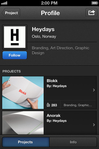 Behance iPhone App is the ultimate pocket portfolio for creatives