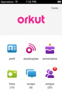 orkut iphone 200x300 6 years after its launch, Google finally releases an Orkut app for iOS
