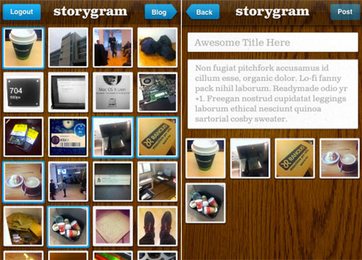 storygram Instagram meets 500px with the new iOS app Storygram