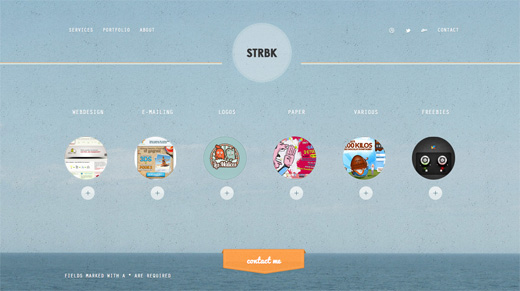 strbk copy 16 Beautiful examples of texture in web design