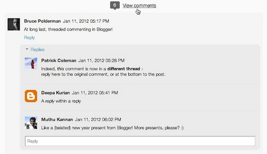threaded comments Blogger finally gets threaded comments. Heres how to enable them.