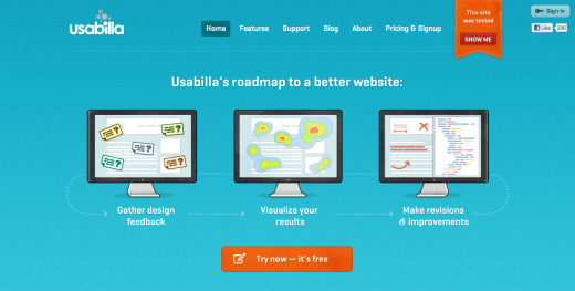 usabilla 520x263 Usabilla releases test templates to help you perfect your UX