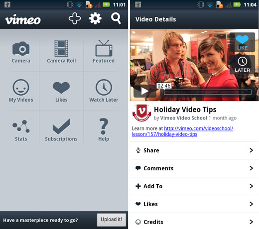 vimeo Vimeo to launch apps for Android, Windows Phone and the Kindle Fire