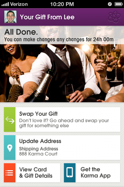 7Overview 520x780 Karma: An app for instant gift giving, from your mobile or desktop