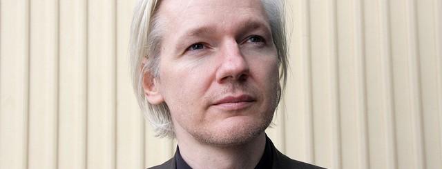 Assange Wikileaks by espenmoe