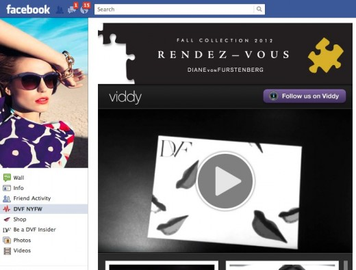 Convofy 136 12 520x395 Social video app Viddy hits the runway for New York Fashion Week