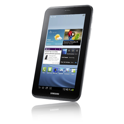 GALAXY Tab 2 7.0 Product Image 4 Samsung announces Galaxy Tab 2 with Android 4.0 and new cloud services, available March