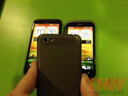 IMG 1747wtmk 520x390 Hands on with HTCs new One series smartphone lineup [Photos]
