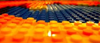 Lego Firefox logo by DoNotLick