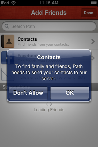 Path1 What iOS apps are grabbing your data, why they do it and what should be done