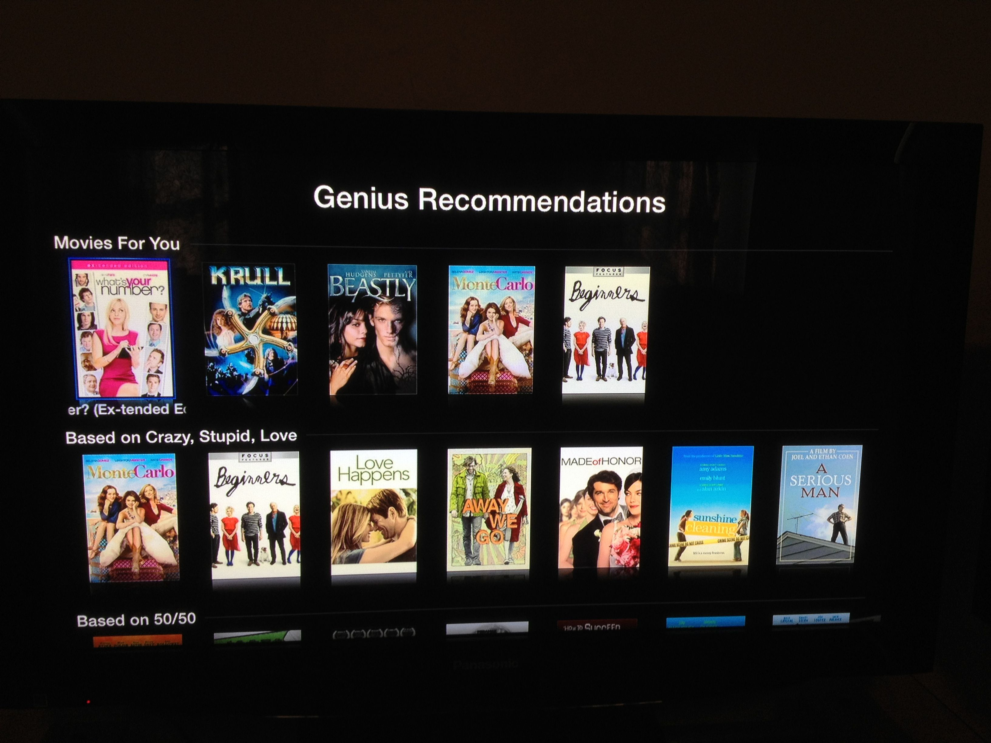apple brings netflixlike discovery to apple tv with genius