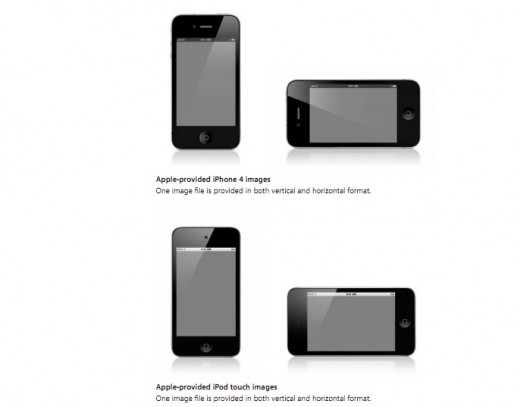 Screen Shot 2012 02 02 at 10.29.44 AM 520x407 Apple reportedly restricting developers use of white iPhone images to promote apps