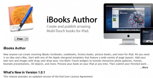 Screen Shot 2012 02 03 at 11.33.58 AM 520x267 Apple updates iBooks Author to clarify that you own created content