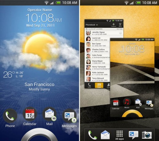 Sense40 01 520x459 A look at HTCs upcoming Ice Cream Sandwich and Sense 4.0 designs