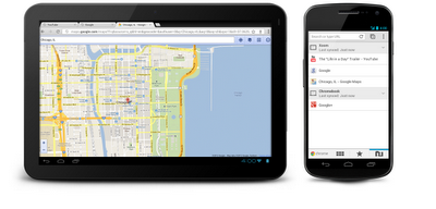 Tablet phone YT G Maps Google FINALLY releases Chrome for Android