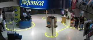Telefonica stand by cvander