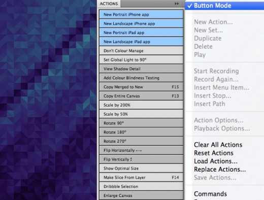 actions11 520x394 21 Photoshop actions by Bjango to speed up your iOS design workflow