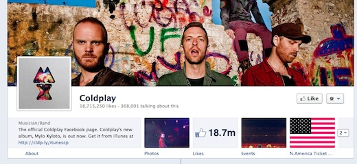 apps New Facebook timeline for brand pages loses landing tabs, gets a new admin panel