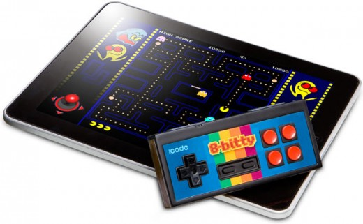 ecea 8 bitty 520x321 The 8 Bitty: Finally, a sweet NES inspired controller for iPhone and iPad