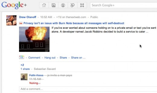 googlenuke11 520x310 This browser extension lets you block and delete Google+ spam comments in one swift nuke