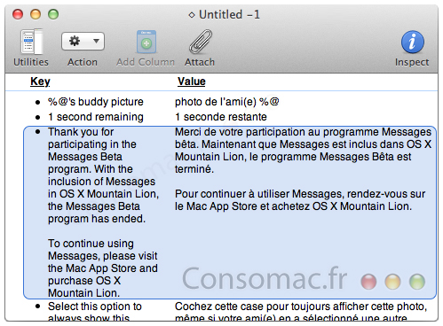 Apples Messages app will be exclusive to Mountain Lion when the beta expires