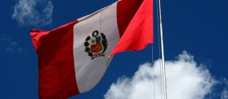 peruvian flag by staypuftman