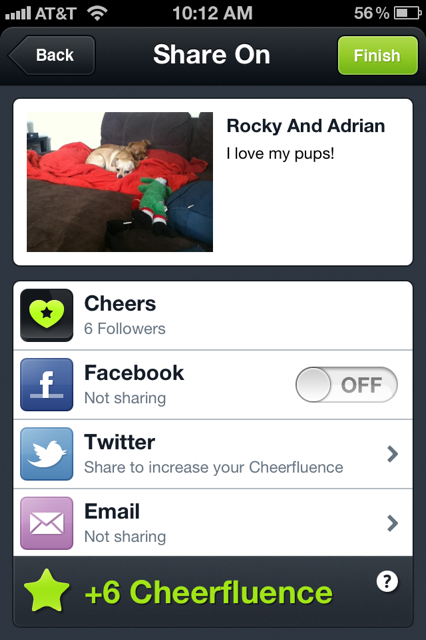 photo 1 Facebooks Like is about to have a competitor and its called Cheers