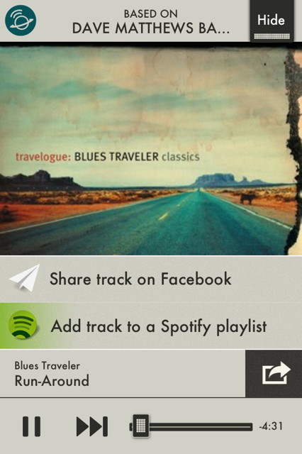 photo 42 SpotON Radio for iOS turns Spotify tracks into Pandora esque radio stations