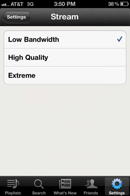 photo6 520x780 Spotifys iOS app gets an update that doubles the stream quality to 320 kbps