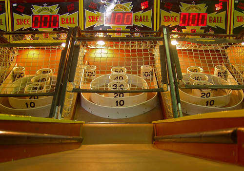 skeeball A Geeks Guide to Valentine's Day