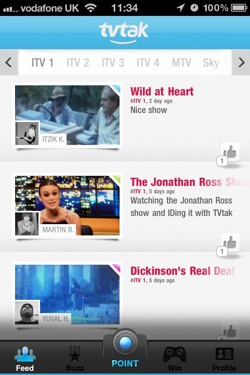 tvtak3 TvTak identifies the TV shows you watch using video recognition