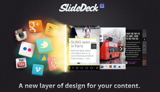 3 520x300 SlideDeck 2 lets bloggers create gorgeous, customizable content sliders without code