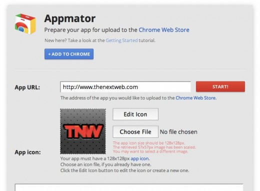 Appmator 520x382 Google Chrome updates its Appmator tool for Chrome developers