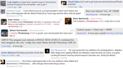 CS6 Comments 02 2 520x293 Photoshop CS6 beta sees over half a million downloads in 6 days