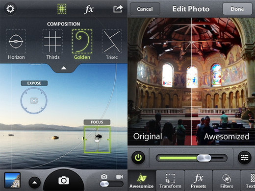 CameraAwesome1 7 new iPhone photography apps that you should download now