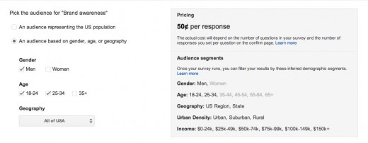 Convofy 173 520x202 Google launches self serve Consumer Surveys product for custom market research