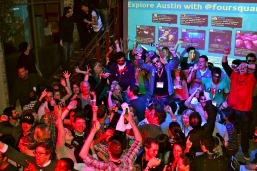 FOURSQUARE PARTY 520x346 TNWs Best Of: 5 days in Austin, Texas at SXSW