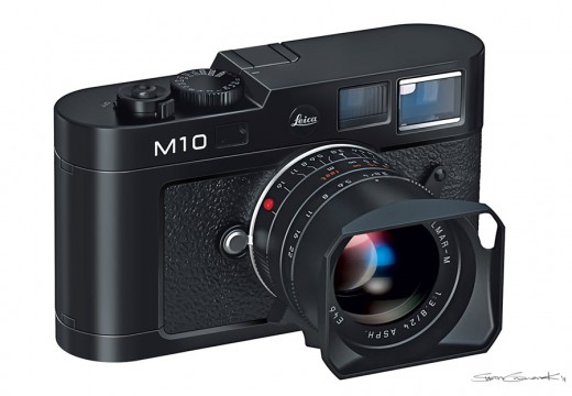 Leica M10 520x360 Leicas new camera rumored to pack a B&W sensor, no LCD display