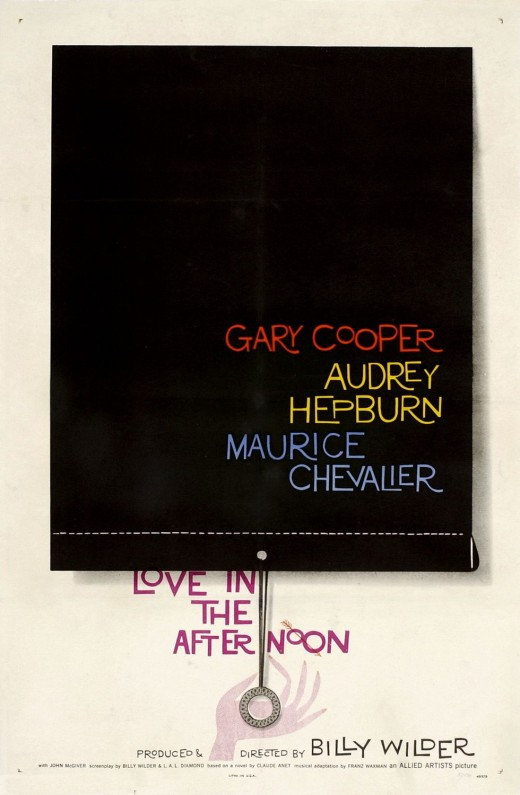 Love in the afternoon 1957   movie poster 520x795 Web designers love chasing trends, but nobodys creating something that lasts