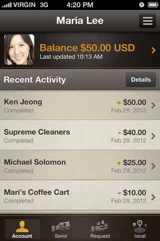 PayPal updates iPhone app with new look and Local service for finding PayPal Here merchants