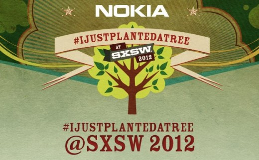Nokia ijustplantedatree 520x322 Nokia to help make Austin greener with its #ijustplantedatree campaign at SXSW